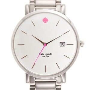 Kate Spade Silver Gramercy Grand Watch